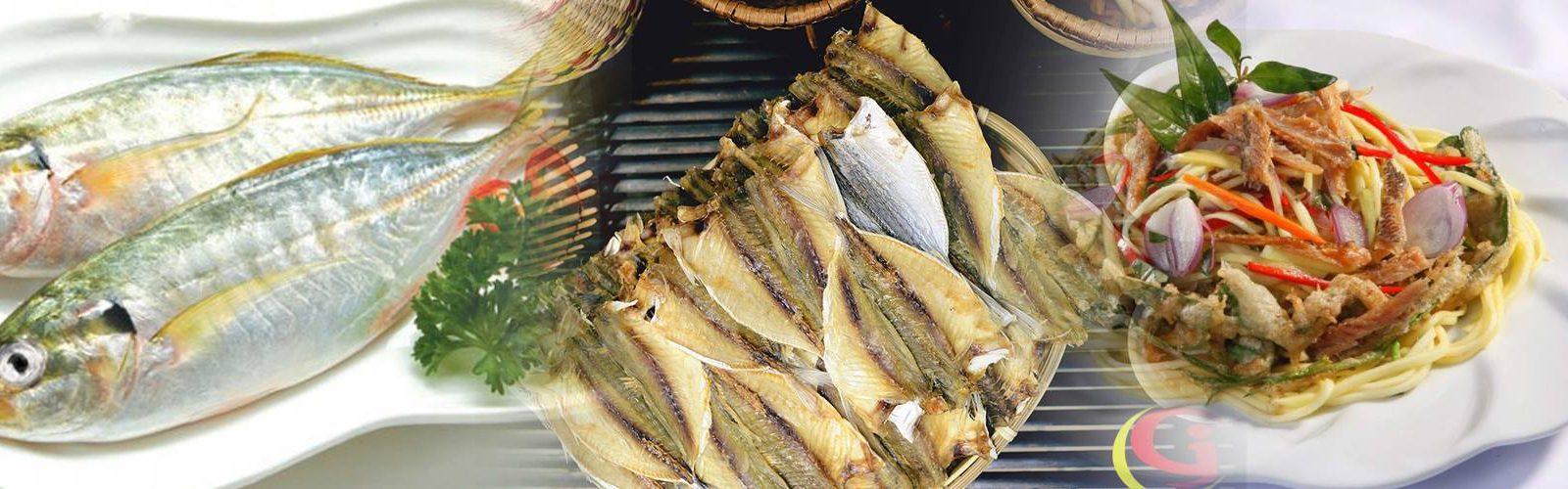 Nguyên liệu cá chỉ tươi